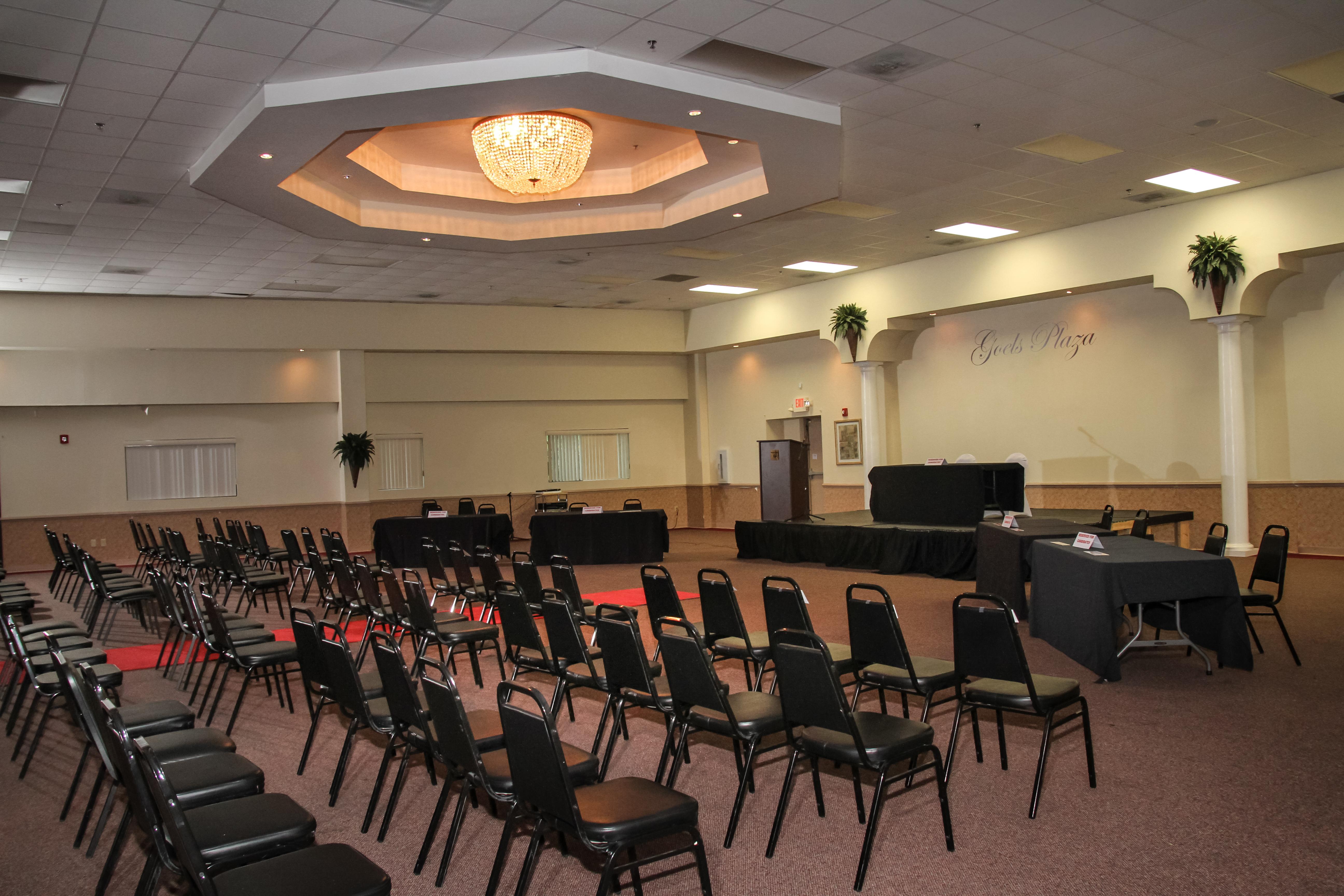 Auditorium Set up in Grand